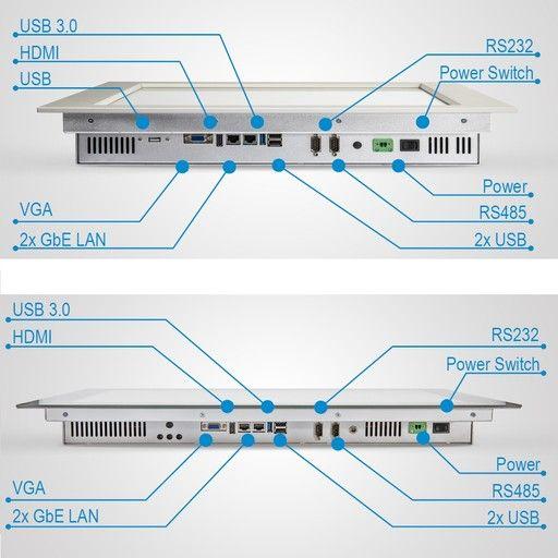 Touchscreens von Senomatic Ports