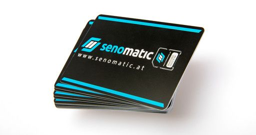 SIM-Karten-Stapel von Senomatic